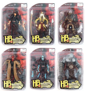 Hellboy 2 - The Golden Army: Series 1 Set of 6