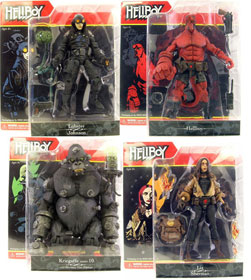 Hellboy Comic Figure Series 1 Set of 4