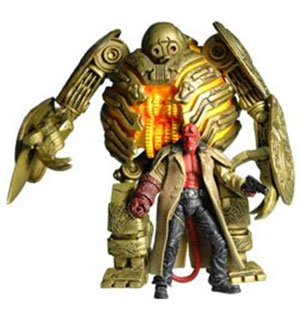 SDCC 2009 Exclusive 3.75-Inch Hellboy with Golden Army Soldier