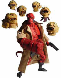 Deluxe HellBoy with Japanese Heads SDCC Exclusive
