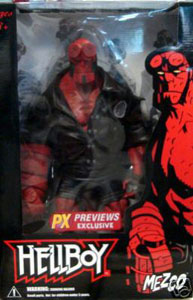 18-Inch Hellboy PX PREVIEWS EXCLUSIVE - DAMAGE PLASTIC - MINT CONTENT