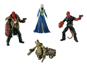 Hellboy 2 Golden Army - Series 2 Set of 4
