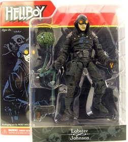 Lobster Johnson Comic Figure