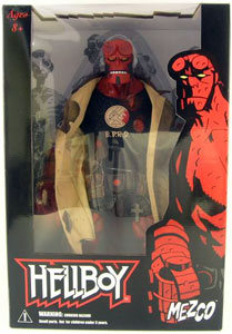 18-Inch Battle-Damage Hellboy Comic Figure Angry