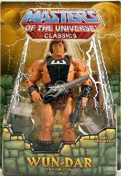 MOTU Classic - Wun-Dar Club Eternia Exclusive