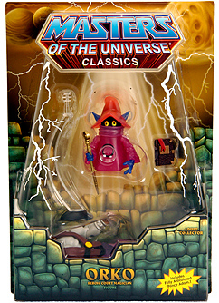 SDCC 2010 - MOTU Classic - Orko [Includes Prince Adam]