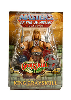 MOTU Classic - Exclusive King Grayskull Redeco