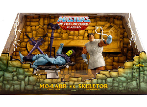 MOTU Classic - SDCC Mo-Larr vs Skeletor