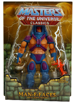 MOTU Classic - Exclusive Man-E-Faces