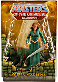 MOTU Classic SDCC 2011 - Exclusive Queen Marlena and Cringer 2-Pack