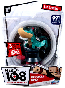 Hero 108 Kingdom Krashers - Crocodile King
