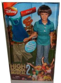 High School Musical 2 - Troy Doll