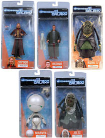 Hitchhiker Guide Set of 5