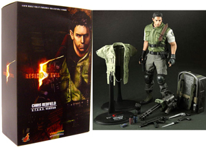 Hot Toys Resident Evil 5 12-Inch 1/6th Scale Chris Redfield