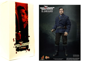 Hot Toys Inglourious Basterds 12-Inch 1/6th Scale Lt Aldo Raine - Brad Pitt