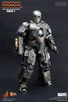 Hot Toys Iron Man 12-Inch 1/6th Scale Iron Man Mark I