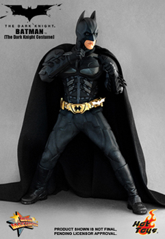 Hot Toys The Dark Knight 12-Inch 1/6th Scale Batman Dark Knight Edition