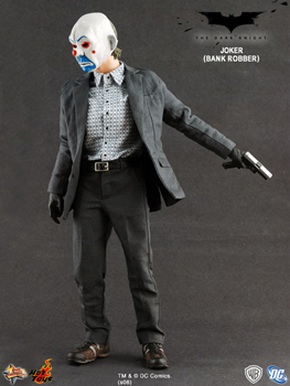 Hot Toys The Dark Knight 12-Inch 1:6th Scale The Joker - Bank Robber Version