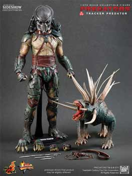 Hot Toys Predator 12-Inch 1:6th Scale Tracker