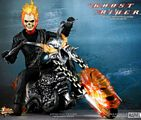 Hot Toys Marvel 12-Inch 1/6th Scale Ghost Rider - Nicholas Cage