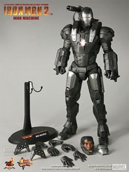 Hot Toys Iron Man 2 Movie 12-Inch 1:6th Scale War Machine