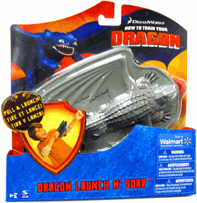 How To Train Your Dragon - Dragon Launch N Soar  Red Death