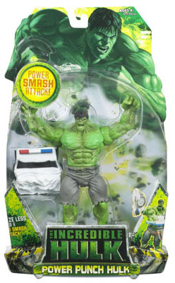 Incredible Hulk 2008 - Power Punch Hulk