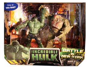 The Incredible Hulk - Battle In New York Exclusive