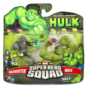Super Hero Squad - Hulk and Hulkbuster