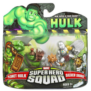 Super Hero Squad - Planet Hulk and Silver Savage
