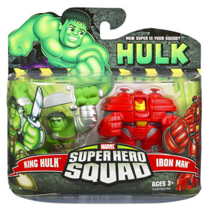 Super Hero Squad - King Hulk and Iron Man Hulkbuster