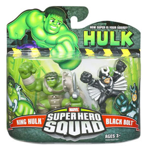 Super Hero Squad - King Hulk and Black Bolt