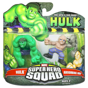 Super Hero Squad - Hulk and Absorbing Man
