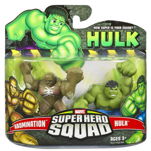 Super Hero Squad - Hulk and Abomination