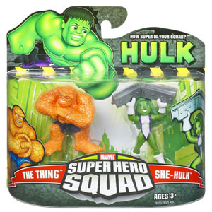 Super Hero Squad - She-Hulk and Thing