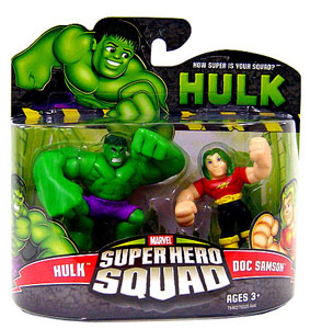 Super Hero Squad - Hulk and Doc Samson