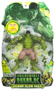 Incredible Hulk 2008 - Power Glow Hulk