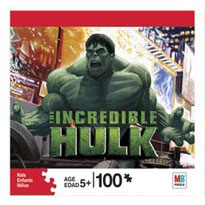 100 PCS Puzzle Mad Hulk