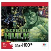 100 Pcs Puzzle Calm Hulk