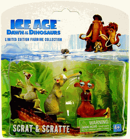 Dawn Of The Dinosaurs - Scrat and Scratte