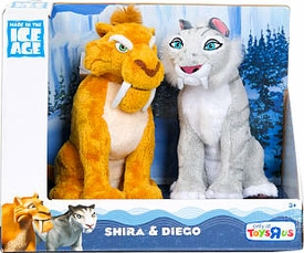 Ice Age Continental Drift - 2-Pack Shira and Diego