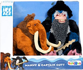 Ice Age Continental Drift - 2-Pack Manny and Captain Gutt