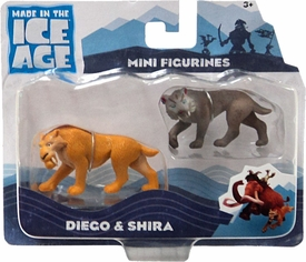 Ice Age Continental Drift - 2-Pack Diego and Shira