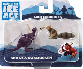 Ice Age Continental Drift - 2-Pack Scrat and Rasmussen