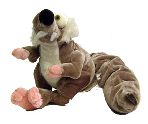9-Inch Scrat Softee Plush