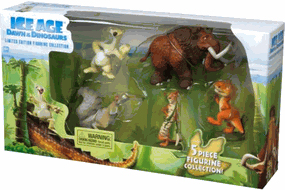 Ice Age 3 - Dawn Of The Dinosaurs - 5 Piece Figurine Collection