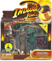 Indiana Jones Deluxe - Indiana Jones with Temple Pitfall