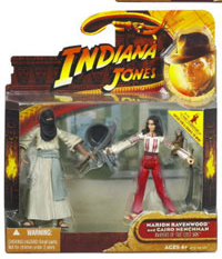 Indiana Jones Deluxe - Cairo Swordman and Marion