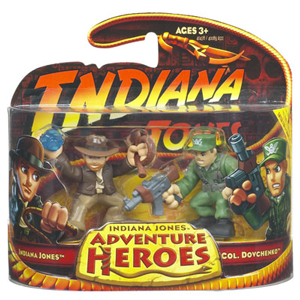 Indiana Jones Adventure Heroes - Indiana Jones vs Col Dovchenko