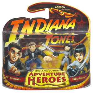 Indiana Jones Adventure Heroes - Mutt Williams Vs Irina Spalko